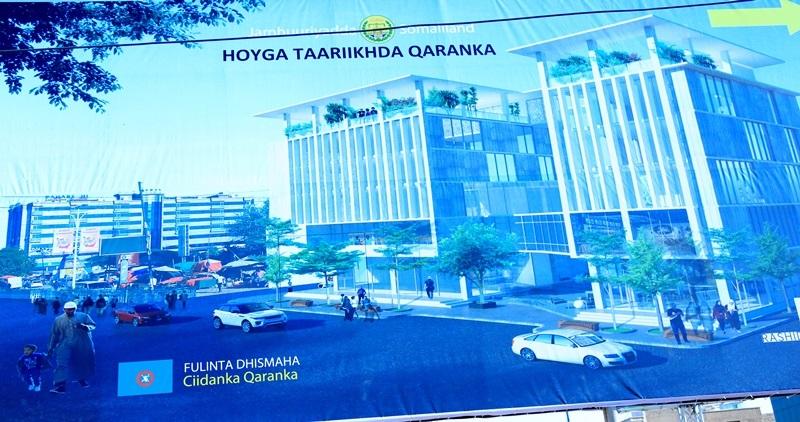 naqshada Xarunta Keydka Taariikhda Qaranka Somaliland