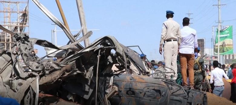 Ex-Control Afgoye explosion on 28 December 2019, Araweelo News Network.