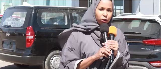 Madaxa suuq-geynta ee Shirkadda Hyundai Dahabshiil Motors, Hibo Maxamed Warsame, 24 Jan 2020 Araweelo News Network.