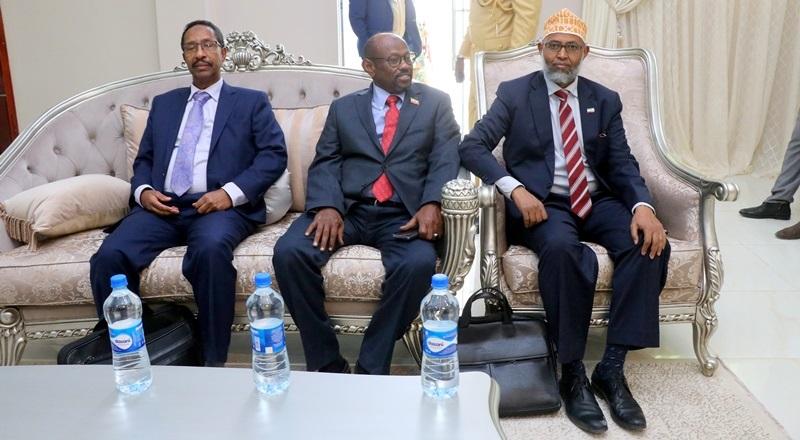 Xubno ka mid ah Madaxweynaha Jamhuuriyadda Somaliland, Mudane Muuse Biixi Cabdi uu hoggaaminayo oo safar ugu baxay dalka Ethiopia.9 Feb 2020, Araweelo News Network