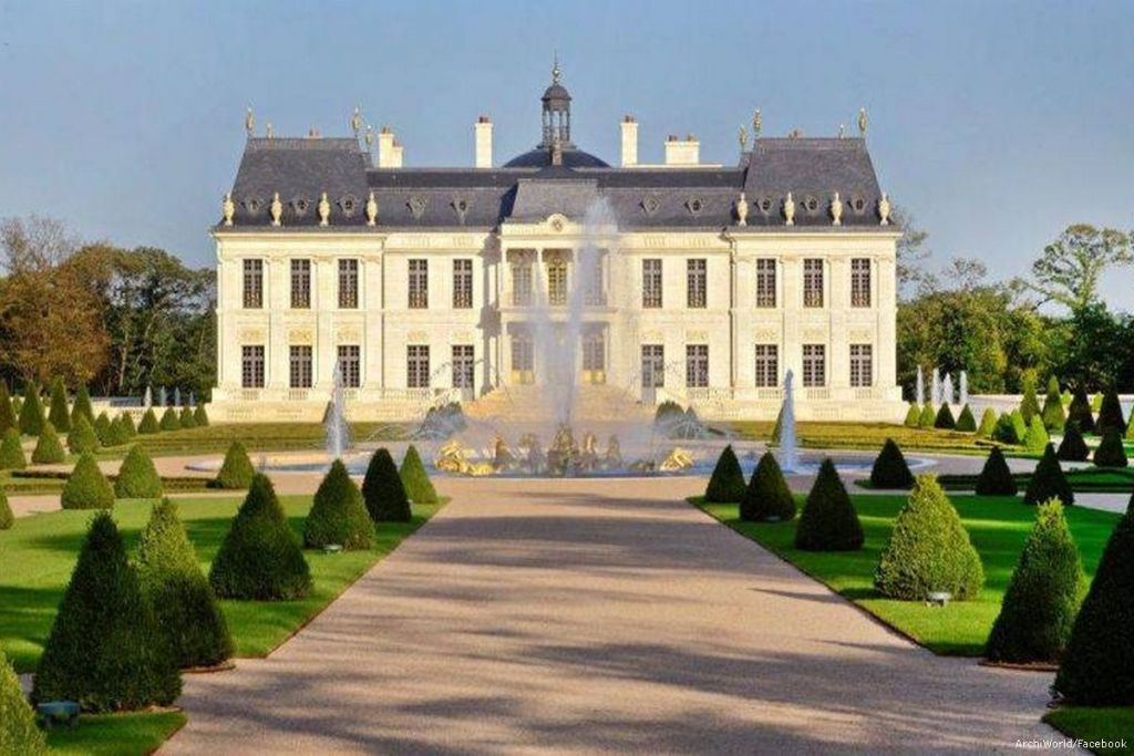 Chateau Louis XIV, the world's most expensive home [ArchiWorld/Facebook]