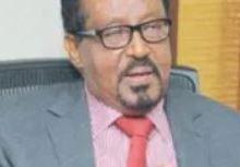 Alt. Prof. Ismael Mohamoud Hurreh (IBuubaa) Image 22 November 2020, Araweelo News Network.
