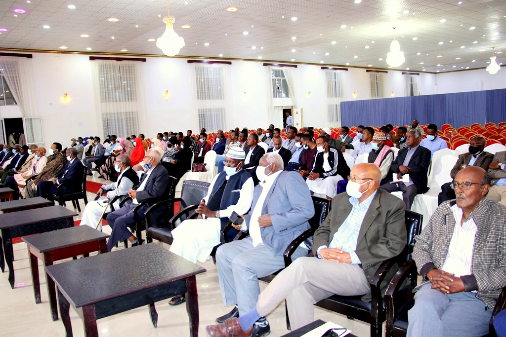Event Commemoration And Mourning Dr. Aden Yusuf Abokor Held In Hargeisa 7 December 2020, Image Araweelo News Network.