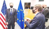 Josep Borrell and Antony J. Blinken met in Brussels