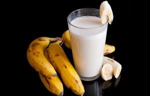 عصير الموز بالعسل