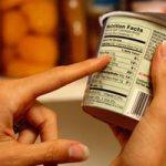 قراءة البيانات الغذائية -Food labels-