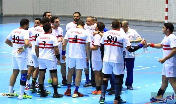 فريق يد الزمالك يتأهل إلى ربع نهائي بطولة أفريقيا للأندية