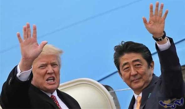 ترامب يعتزم لعب الغولف مع آبي في اليابان الشهر المقبل