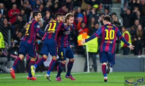 فريق برشلونة يعود بفوز ثمين من سان ماميس