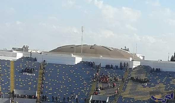 جماهير الأهلي المصري تصل إلى ملعب محمد الخامس