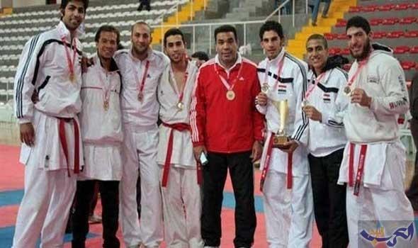 منتخب الكاراتيه يعود من إسبانيا بعد تحقيق الميدالية الفضية