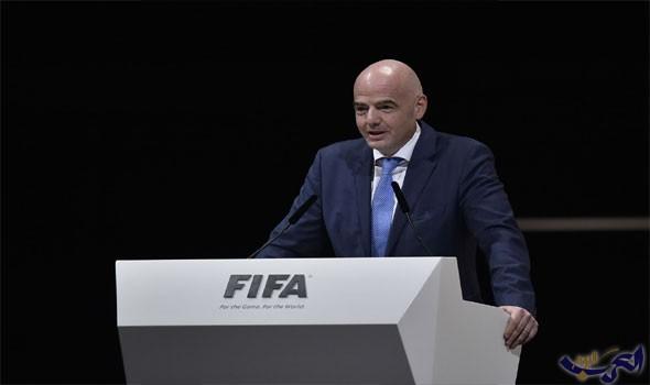 رئيس الفيفا يؤكد رفع الإيقاف عن الكرة الكويتية