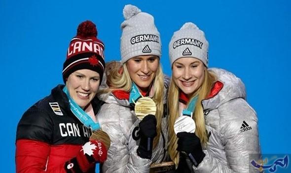ألمانيا تحقق 8 ميداليات ذهبية خلال 5 أيام في بيونغتشانغ