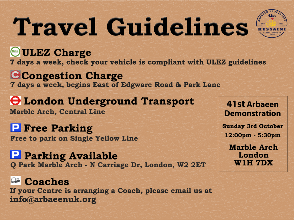 Travel Guidelines 2021