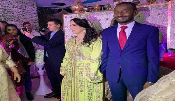 حفل زفاف هاجر الريسوني ورفعت الأمين