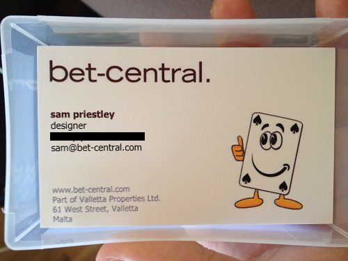bet central business card