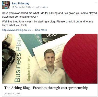 arbing blog create succesful blog