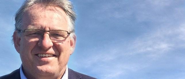 Ny ordförande Peter Weiderud