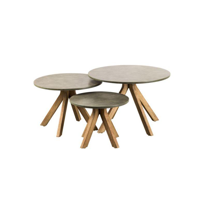 tables basses gigognes bois lagos
