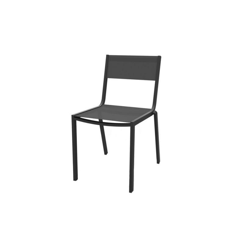 chaise de jardin aluminium et textilene bohol