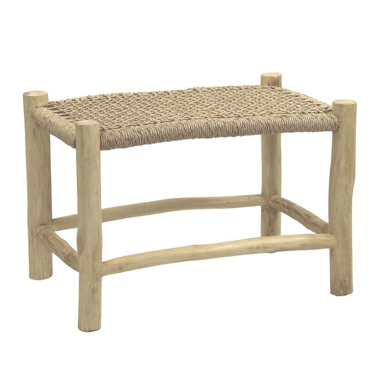 table basse rectangulaire teck pomax