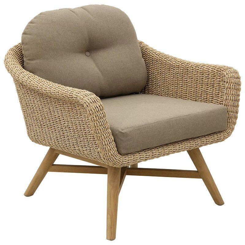 fauteuil bas exterieur marisol