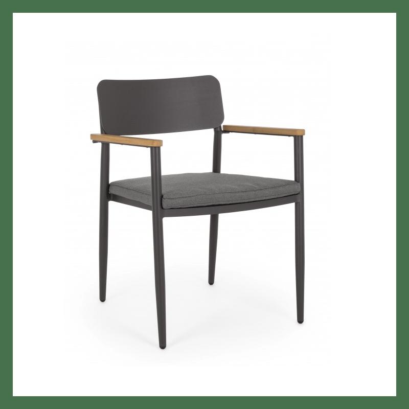 chaise de jardin design kaspian