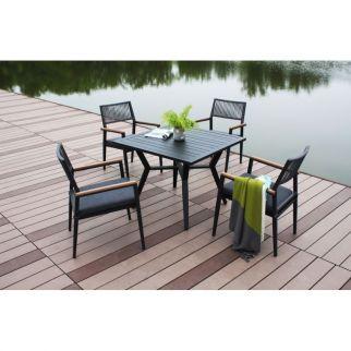 ensemble table et chaises de jardin carlina