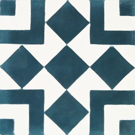 Carreau De Ciment Geometrique Tanger Arborescence Sud Ouest