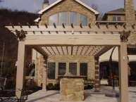 Attached Pergola - Custom