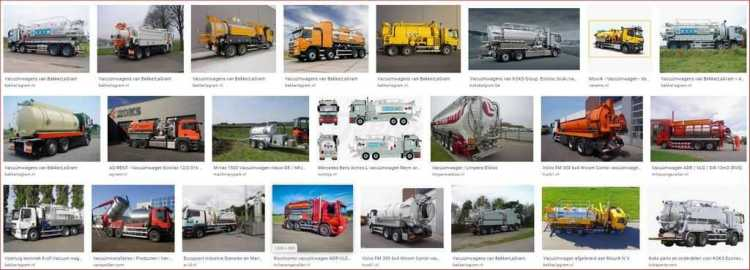 vacuum tankwagen