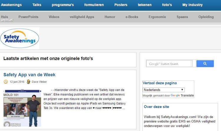 website safety awakenings