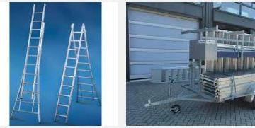 aanhanger ladder trap