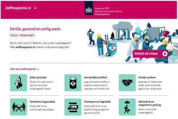 iszw zelfinspectie.nl website