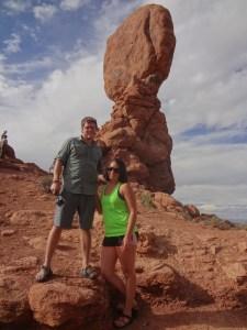 Balanced Rock, Arches National Park, Utah, arboursabroad