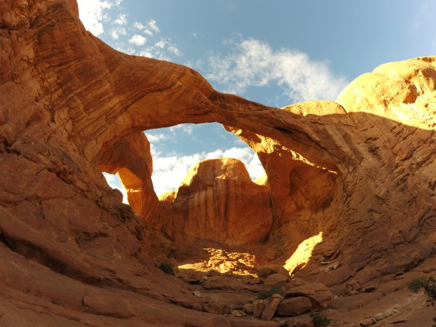 Double arch, Arches National Park, Utah, arboursabroad