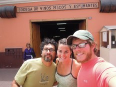 couchsurfing host, Lima, bodega, Pisco, arboursabroad