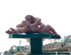Parque de Amore, sculpture, Lima, arboursabroad