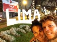 Lima, Peru, arboursabroad, lima sign