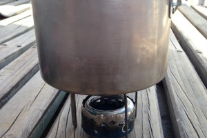 Our Soda Can Stove : Backpacking and Traveling Abroad