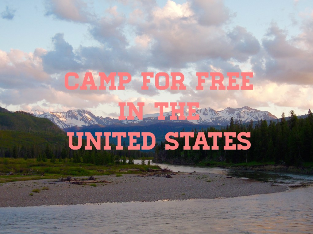 free camping, United States, arboursabroad