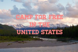 Four Ways to Camp for Free in the United States