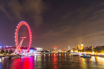 London Eye, London, night photography, arboursabroad