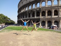 Rome, Colosseum, arbours abroad