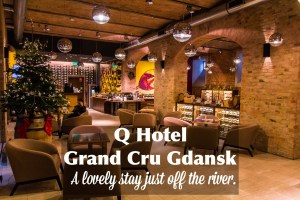 Q Hotel Grand Cru Gdansk | A Cozy Hotel Just Off the River