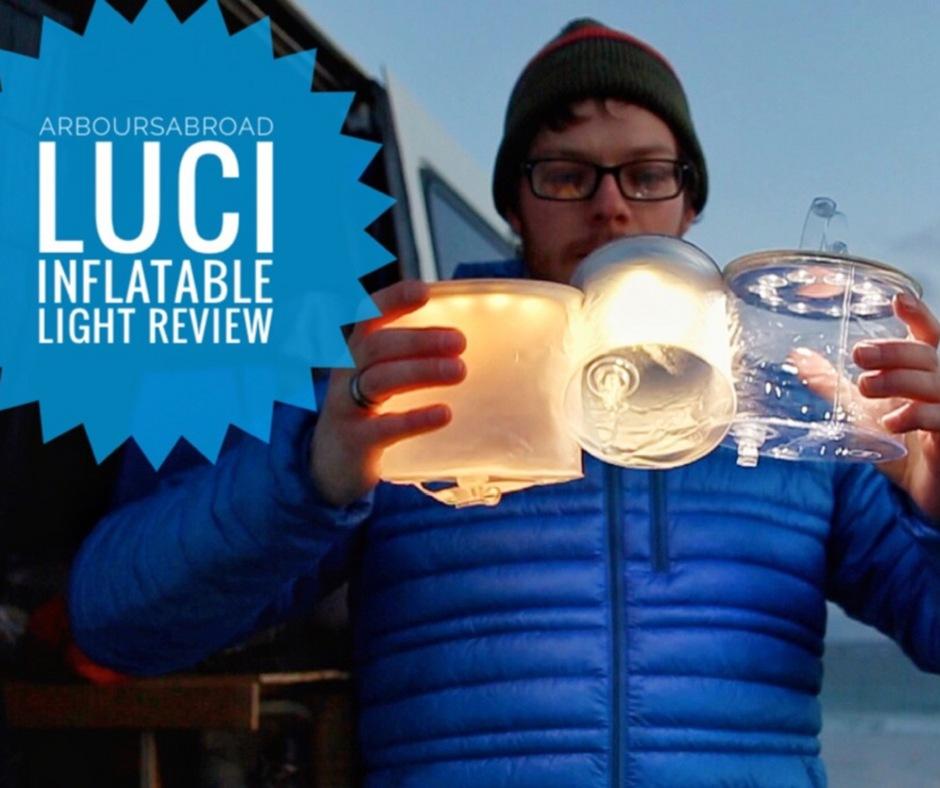 Gear Review : The MPowerd Luci Solar Light