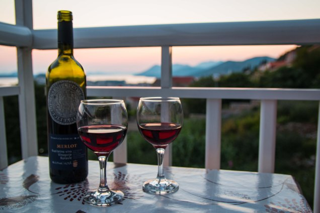 croatian wine, sunset, Dubrovnik, arboursabroad, things to do in Dubrovnik