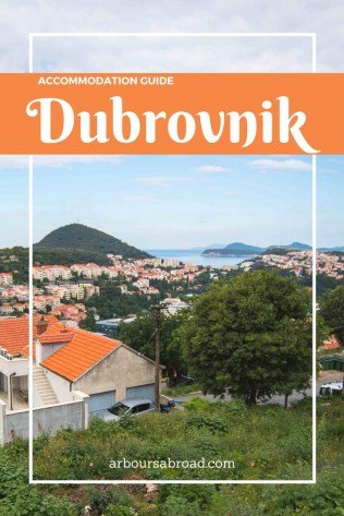 Dubrovnik Accommodation, Where to Stay in Dubrovnik, Croatia, Dalmatian Coast, arboursabroad