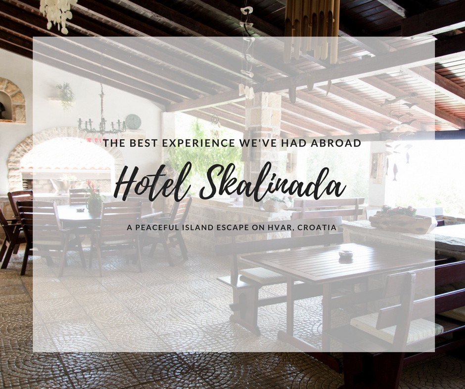 hotel Skalinada, hvar hotels, where to stay hvar, arboursabroad, croatian islands