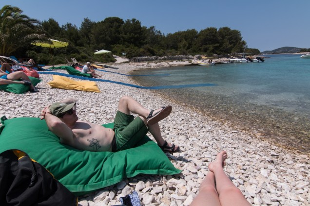 lounge bags, Adriatic Sea, sea kayaking, Hvar, Croatia, &Adventure, arboursabroad
